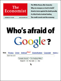 The Economist cover US Edition 1 Sept 2007